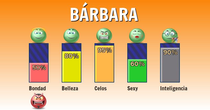 Qué significa bárbara - ¿Qué significa mi nombre?