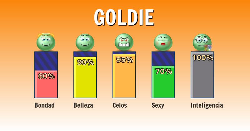 Qué significa goldie - ¿Qué significa mi nombre?