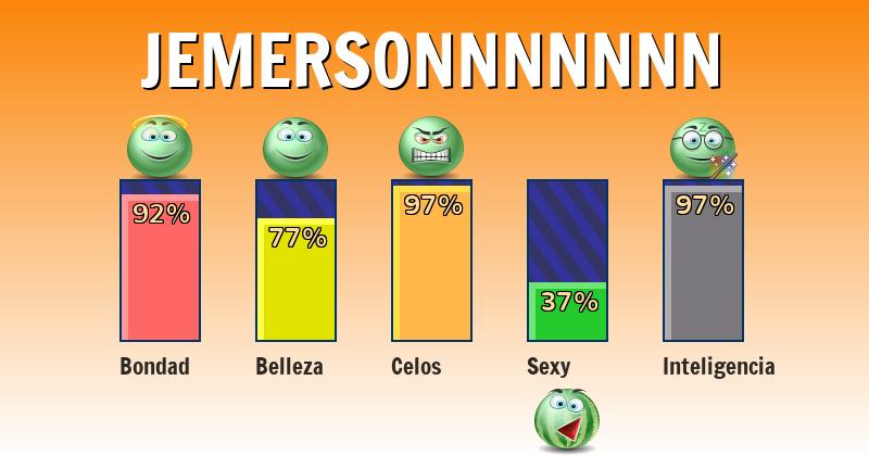 Qué significa jemersonnnnnnn - ¿Qué significa mi nombre?